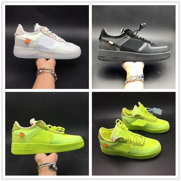 Горячий черный белый зеленый принудительный низкий кроссовки верхние мужские же