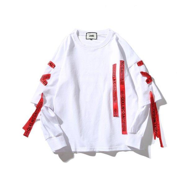 Sudaderas con capucha blanca roja