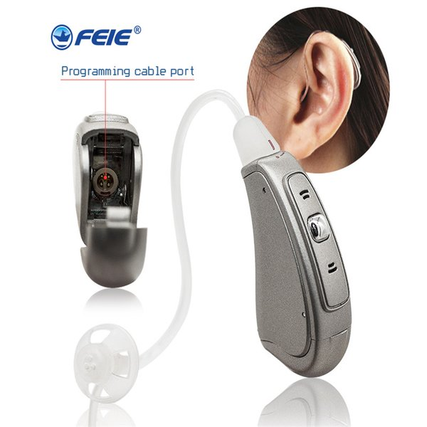 Intelligent Digital Hearing Aid Programmable Enhancing Sound Earphone Deaf  Aids RIC Tinnitus Sound Amplifier Best Tone MY 20 Discounted Hearing Aids