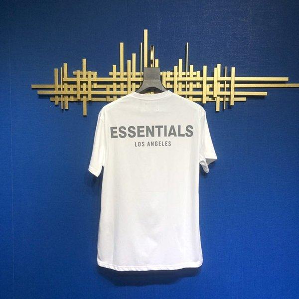 Weiß Essentials T-Shirt