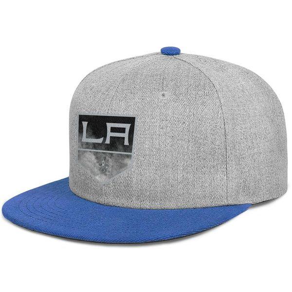 Los Angeles Kings Çekirdek Duman adam Düz beyzbol şapkası şık ayarlanabilir kadınlar yaz kap trendy snapback kap örgü güneş şapka