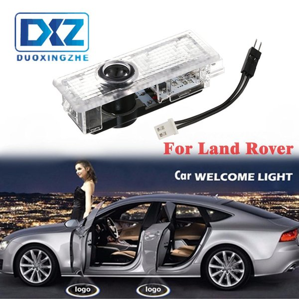 2pcs LED porte de voiture bienvenue laser Projecteur Logo porte fantôme Shadow Light pour Land Rover