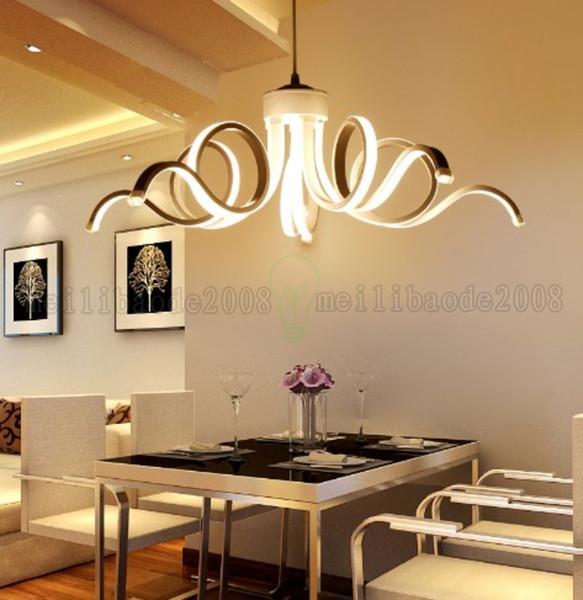 Criativo Moda LEVOU Lâmpadas Pingente de Arte, Personalidade Simples American Inn Post-modern Luzes de Iluminação Para Restaurante Hotel Sala de estar