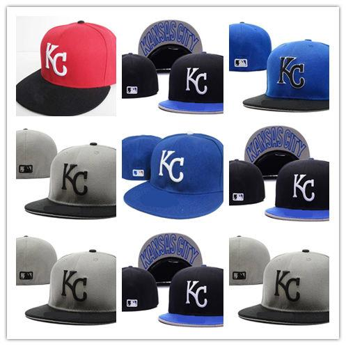 30bdacb28 Newest Arrival Kansas City Royals Fitted Hats Men Womens Hiphop ...