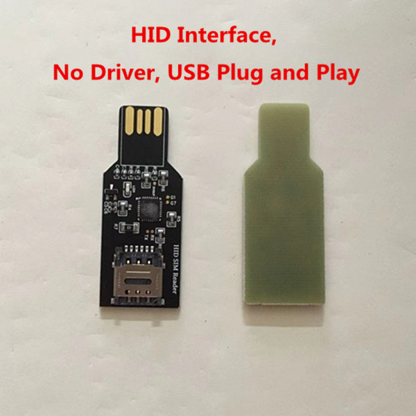 best selling USB 2.0 Dongle For Unlock Sim Card Update firmware for Chinasnow Heicardsim HID interface no Driver.