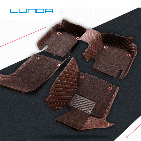best selling Car floor mat for audi S3 S5 S6 S7 S8 a1 a3 sportback a4 a5 a6 Q3 Q5 Q5 Q7 AVANT TT TTS Customizable right hand drive Carpets