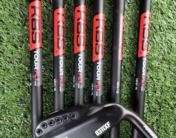 2019 Men black 0311XF iron golf forged iron golf club 3-9, W, a set of 8 R / S head cover steel rod