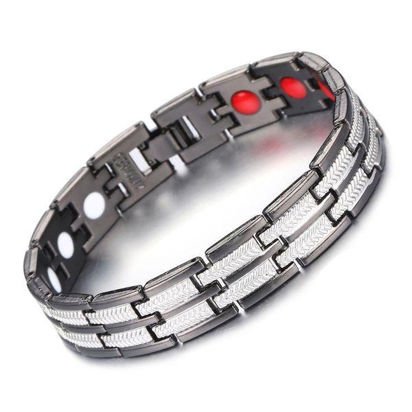 Hot sale da moda jóias pulseira pulseira de equilíbrio de Energia pulseira de Energia de íons de magnetita pulseira de Cuidados de Saúde como melhor presente das mulheres