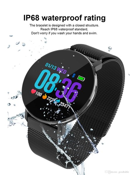 Waterproof caller monitoring color screen smart bracelet bluetooth smart bracelet motion pedometer