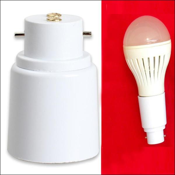 B22 E27 LED Halojen CFL Işık Bankası Ampul Lamba Adaptörü Dönüştürücü Soket