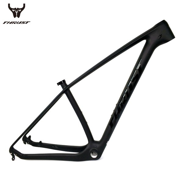 THRUST Chinese Carbon Frame 29er 27.5 mtb Mountain Carbon Bike Frame 15 17 19 T1000 Bicycle Frame Disc Brake BB30 BSA