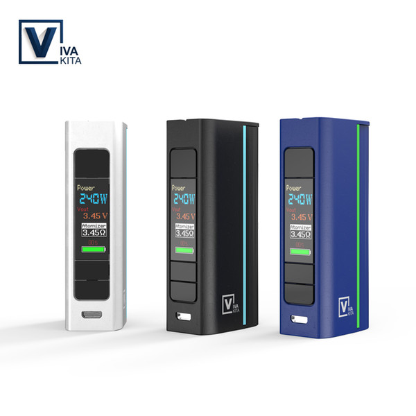 Vivakita Electronic Cigarette Vape Mod Move Grand 80W Caja Mod Fit Atomizador 510 Hilo sencillo 18650 Batería e cigarrillos mod vape