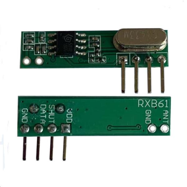Superheterodyne Mini Accessories Wireless Universal RF Metal Useful High Sensitivity 433MHZ Durable Receiver Module Multi-use