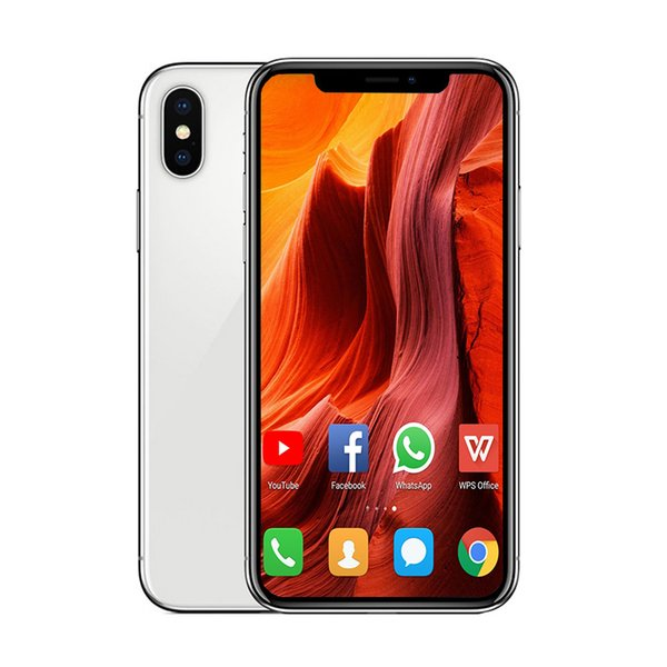 6.5inch Goophone XS MAX RAM 1G ROM 16G with face ID wirelss charging WIFI GPS bluetooth 4.0 unlocked 3G WCDMA phone