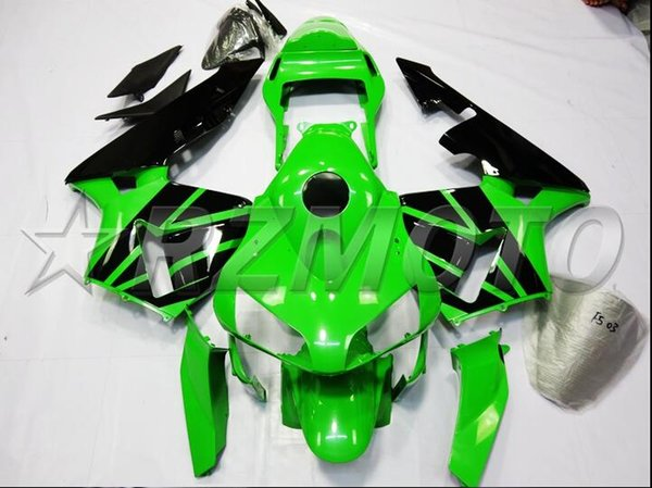 New Injection Mold ABS Full Fairings kit Fit for HONDA CBR600RR F5 2003 2004 03 04 600RR CBR600 glossy green black