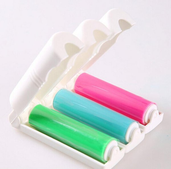 El implemento de lana de palo portátil limpia el cepillo de rodillo desenredado además del polvo pegajoso del cepillo Pinzas de rodillos de pelusa H193