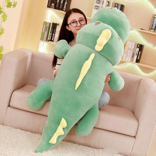 Cuddly decompressione Dinosaur peluche cuscino Grande molle farcito Anime Dinosaurs regalo Doll Anime Toy 120 centimetri 150 centimetri