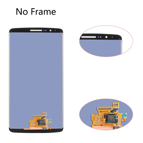 Sinbeda 100% Top quality LCD Display For LG G3 D855 D850 Black/White/Gold/Grey Touch Screen with Digitizer Assembly and Frame ,Free Shipping