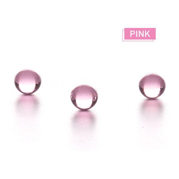 Terp Pearl OD environ 6mm insert coloré coloré rouge rose violet jaune terp perles boule pour quartz banger
