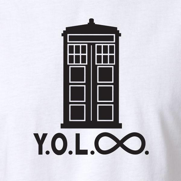 T-shirt / senhora singlet das senhoras dos homens engraçados de Yolo - todos os tamanhos - Dr. Nerd Geek Who