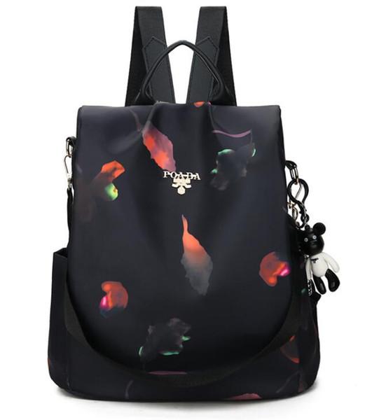 Fashion Backpack Women Leisure Back Pack Korean Ladies Knapsack Casual Travel Bags School Girls Classic Bagpack