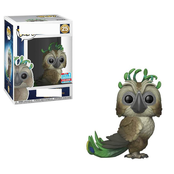 1 STÜCKE 2019 NEUE GROßHANDEL Funko Pop Schöne vogel Vinyl Action Figure Mit Box # 25 Spielzeug Geschenk Puppe Gute Qualität FOT KINDER SPIELZEUG Filmfiguren