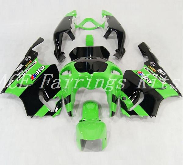 High quality New ABS motorcycle fairings fit for kawasaki Ninja ZX7R 1996-2003 ZX7R 96 97 98 99 00 01 02 03 bike fairing kits green black