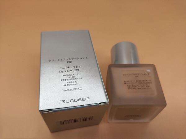 Fashion Face Liquid Foundation 4 Colors Concealer crema viso trucco Primer 30ml 101/102/201/202 DHL gratuito