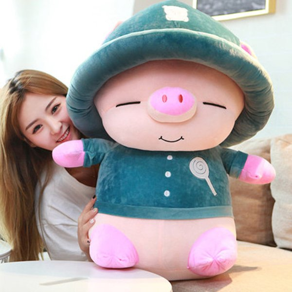 20170709 Hot Sale Little Pig Doll Cute Plush Toy Girl A Birthday Present Gifts And Mascot Stuffed Animals Free Shipping