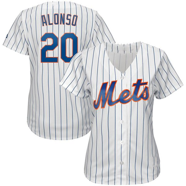 premium selection 33a61 8dfb2 2019 Womens New York Custom NY Mets Jersey Pete Alonso Jacob DeGrom Jeff  McNeil Noah Syndergaard Mike Piazza David Wright Baseball Jerseys From ...