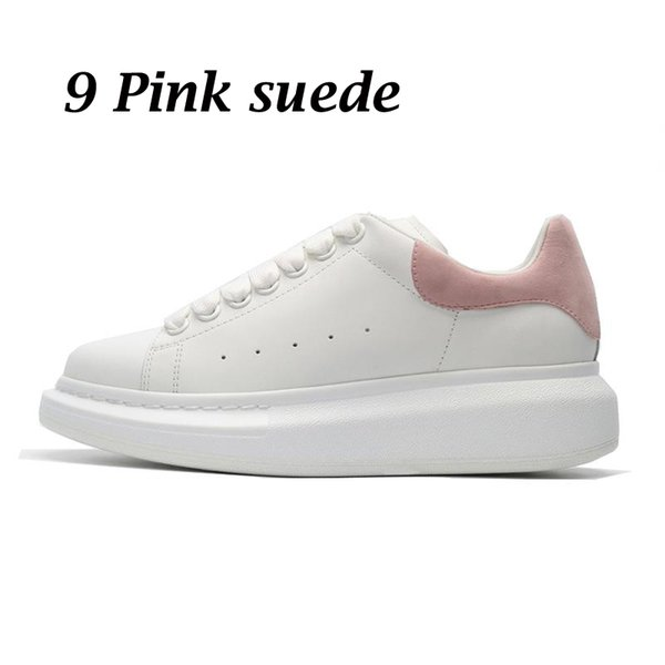 9 pink suede