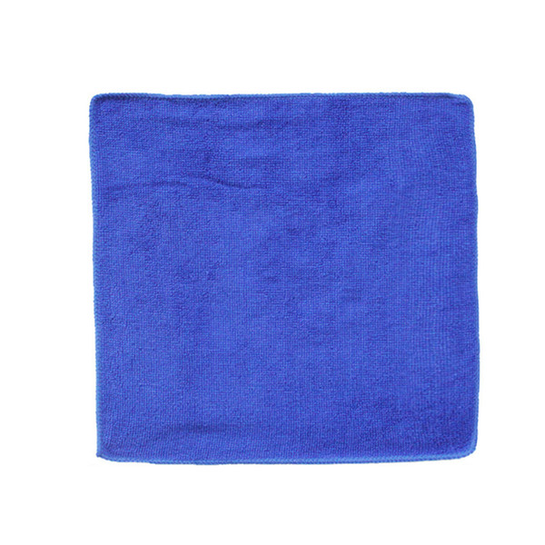 Auto 1PC Blue Absorbent Microfiber Towel Car Home Kitchen Washing Clean Wash Cloth 30*30cm Car Home Cleaning Micro fiber Towels