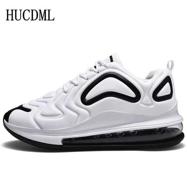 HUCDML 2019 Chaussures classiques pour hommes Respirant Confortable Extérieur Décontracté Chaussures pour hommes Espadrilles à lacets Sneakers Big Size: 39-47