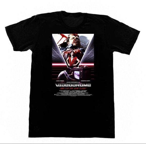 Videodrome camiseta 163 camisa DEbbie Harry BDSM Bondage Erotica Cronenberg Marca camisas jeans Imprimir