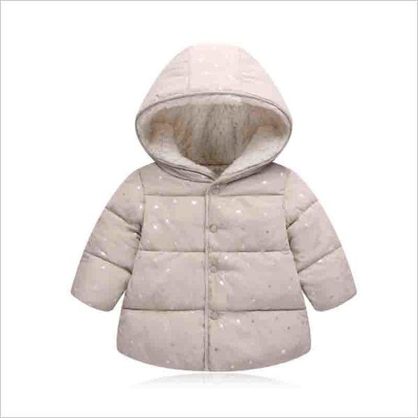 good quality Girl Winter Jacket 2019 New Hooded Kids Girls Winter Coat Long Sleeve WindProof Children Down Cotton Coat Warm Outwear