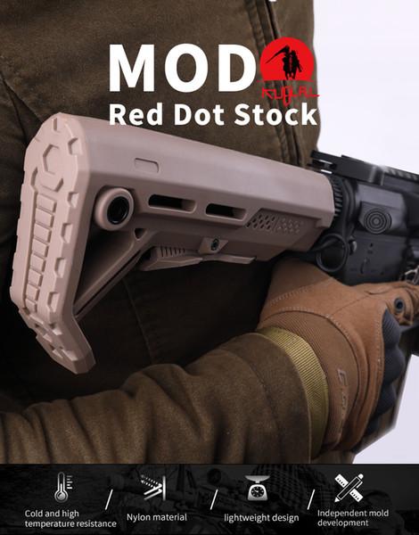 Taktik Stok Etki Dayanıklı MOD buttstock QD sapan bağlama DE ile AR15 / M16 Mil Spec Tampon Tube için