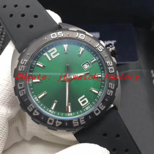 Rubber strap (green dial)