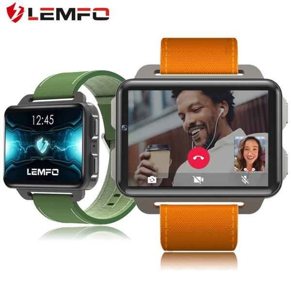 LEMFO LEM4 Pro relojes inteligentes con Android 5.1 Cena pantalla grande 1200Mah batería de litio 1 GB de RAM 16 GB de ROM WIFI vídeo