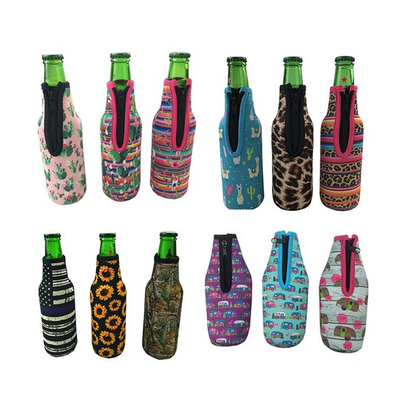 Sport water bottle cover neoprene insulated sleeve bag case pouch D/&H