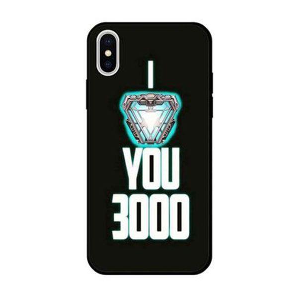 SG Yeni Marvel 4 Demir Adam iPhone Telefon Kılıfı sizi üç bin kez Seviyorum Koruma Telefon Kapak Kadın Erkek hediyeler