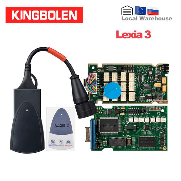 Lexia 3 Full Chip Diagbox 7.83 OBD2 Auto Scaner 921815C Lexia3 PP2000 For Citroen/Peugeot Diagnostic Tool