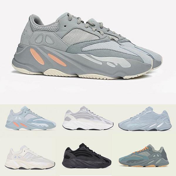 wholesale hospital blue magnet vanta 700 boost wave static runner mens women designer sneakers 700 kanye west sport shoes running shoe