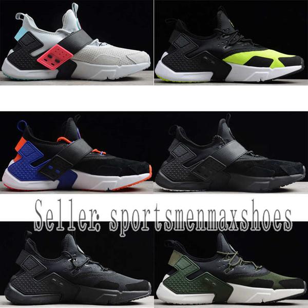 Huarache Sürüklenme Erkek BR 6 Koşu Ayakkabıları Erkek kadın Üçlü Beyaz Siyah kırmızı Gri erkek kadın Huaraches eğitmen spor ayakkabı Sneakers boyutu 36-45