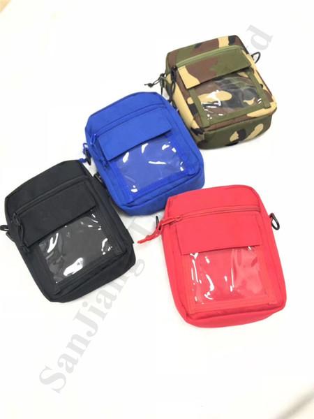 Designer Sup Saco Crossbody 19ss Unisex Fanny Pack Homens Mulheres Sling Bolsa de Ombro Pacote de Cintura Estudantes Esporte Ao Ar Livre Saco de Telefone Hiphop C82705