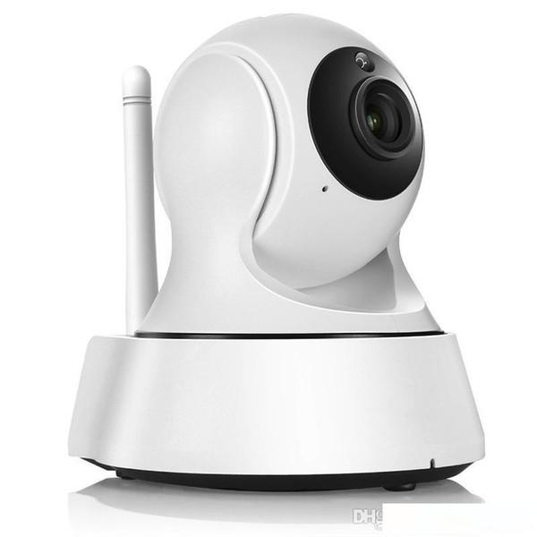Ev Güvenlik Kablosuz Mini IP Kamera Gözetleme Kamerası Wifi 720P Gece Görüş CCTV Kamera Bebek Monitörü