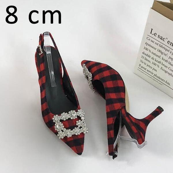 Красные Туфли 8см