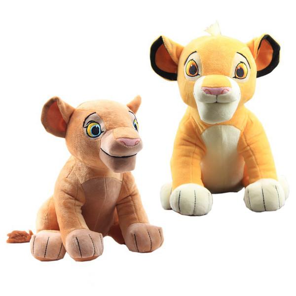 New Good Quality Carino 1 pz Seduto alto 26 cm Simba Giocattoli di peluche Simba Animali di peluche farciti Bambola per regali per bambini