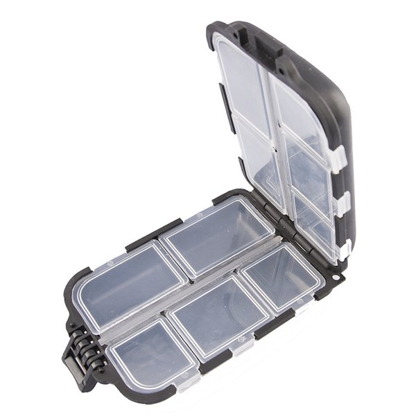 10 compartments fishing lure bait tackle waterproof storage box case assembly thumbnail