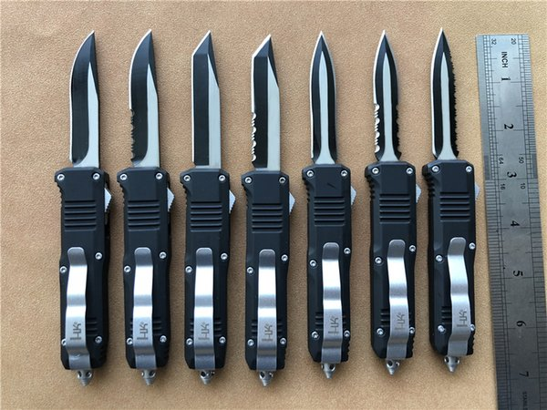 Benchmade Heckler Koch mini C07 Cuchillos automáticos de doble acción HK NOT 3300 Infidel Small EDC Tactical gear Cuchillo de supervivencia A07