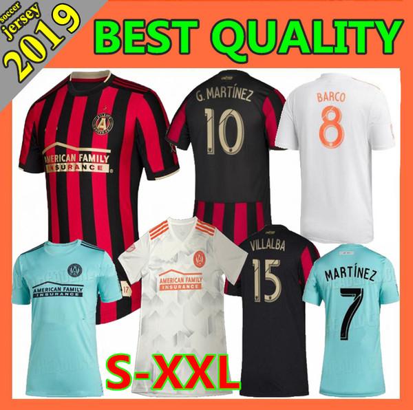 nueva camiseta de fútbol 2019 2020 MLS Parley Atlanta United FC 19 20 camisetas de fútbol GARZA JONES VILLALBA MCCANN MARTINEZ ALMIRON